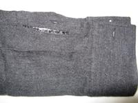 修理 シャツの袖破れ