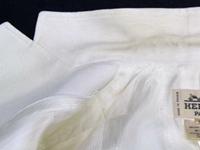 しみ抜き 衿の汚れ Before